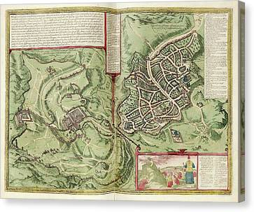 Jerusalem Canvas Print by Library Of Congress, Geography And Map Division