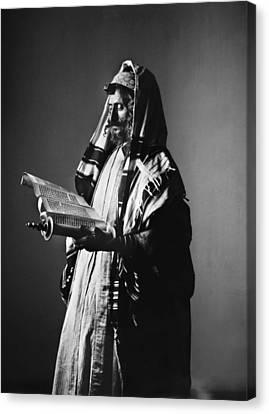 Jerusalem Rabbi Canvas Print