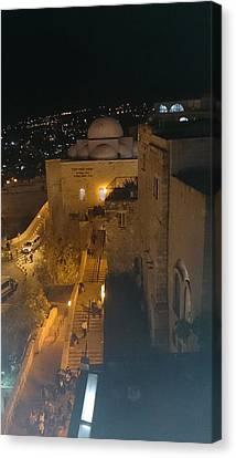 Jerusalem The Old City  Canvas Print