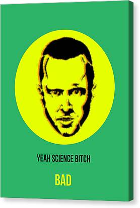 Jesse Breaking Bad Poster 2 Canvas Print by Naxart Studio