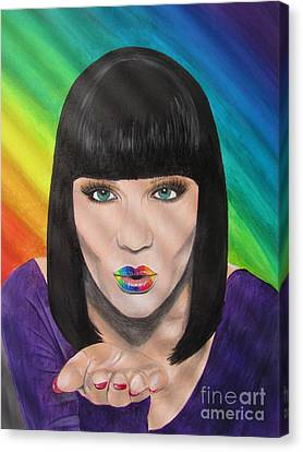 Jessie J Canvas Print by Jeepee Aero