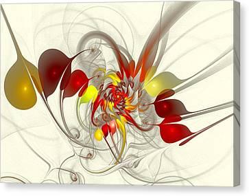 Jester Canvas Print by Anastasiya Malakhova