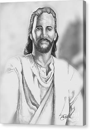 Jesus Canvas Print by Bill Richards