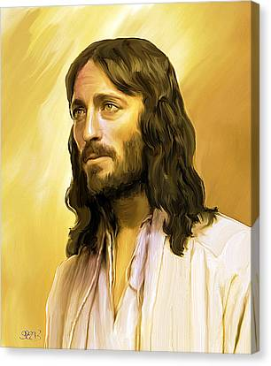 Jesus Cares Canvas Print by Mark Spears