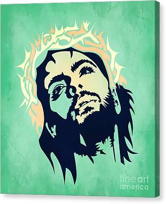 Jesus Christ 2 Canvas Print by Mark Ashkenazi