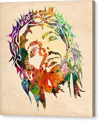 Jesus Christ 3 Canvas Print by Mark Ashkenazi