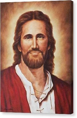 Jesus Christ Canvas Print by Bryan Ahn