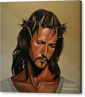 Crucifixion Canvas Print - Jesus Christ Superstar by Paul Meijering