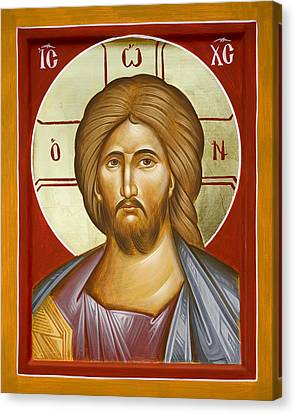 Jesus Christ Canvas Print by Julia Bridget Hayes