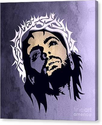 Jesus Christ Canvas Print by Mark Ashkenazi