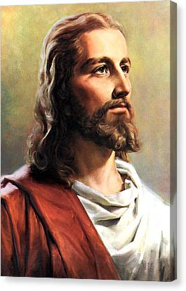 Print Canvas Print - Jesus Christ by Munir Alawi