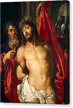 Jesus Christ Canvas Print by Peter Paul Rubens