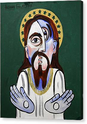Jesus Christ Superstar Canvas Print by Anthony Falbo