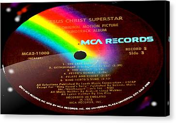 Jesus Christ Superstar Side 3 Canvas Print by Marcello Cicchini