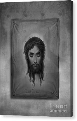 Christian Poetry Canvas Print - Jesus Christus by Edward Fielding