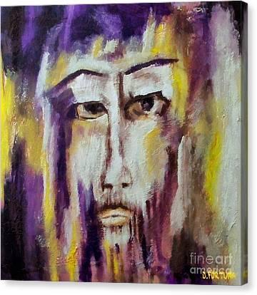 Jesus Canvas Print by Dragica  Micki Fortuna