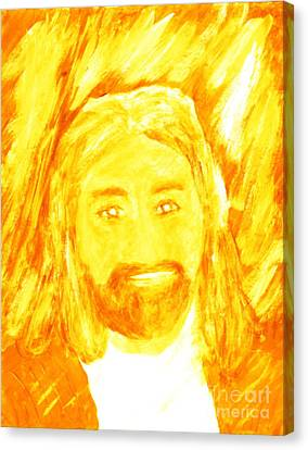 Jesus Is The Christ The Holy Messiah 1 Canvas Print by Richard W Linford