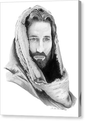 Jesus Canvas Print by Linda Bissett