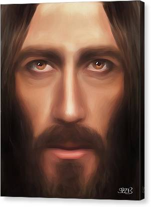 My Jesus Canvas Print by Mark Spears