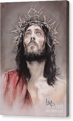 Jesus  Canvas Print by Melanie D
