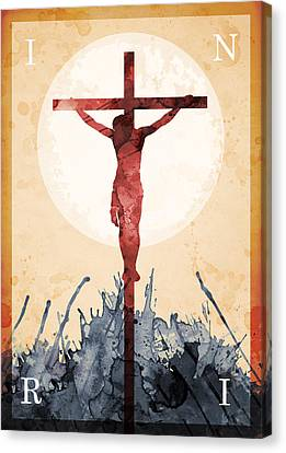 Jesus Our Savior Canvas Print