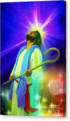 Jesus Rocks Canvas Print
