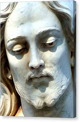 Jesus Statue Canvas Print by David G Paul