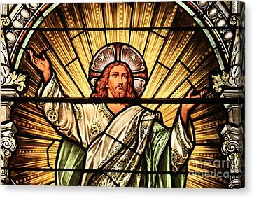 Jesus - The Light Of The Wold Canvas Print