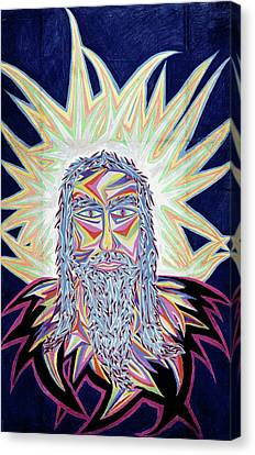 Jesus Year 2000 Canvas Print by Robert SORENSEN