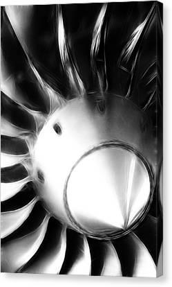 Jet Engine Canvas Print by Steve K