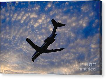 Jet Take Off Canvas Print by Will and Deni McIntyre