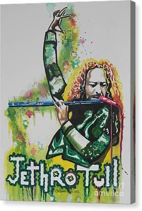 Jethro Tull Canvas Print by Chrisann Ellis