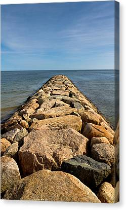 Jetty Canvas Print by Carl Jacobs