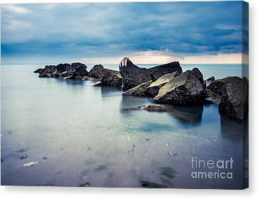 Hannes Cmarits Canvas Print - Jetty by Hannes Cmarits