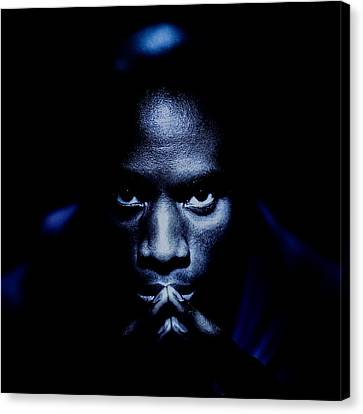 Jevon Blue Canvas Print by YoPedro