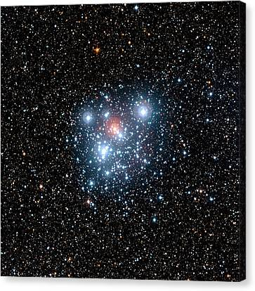 Jewel Box Star Cluster Canvas Print by European Southern Observatory