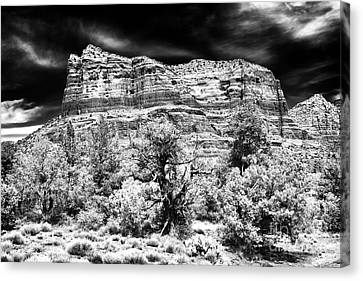 Jewel In The Desert Canvas Print by John Rizzuto