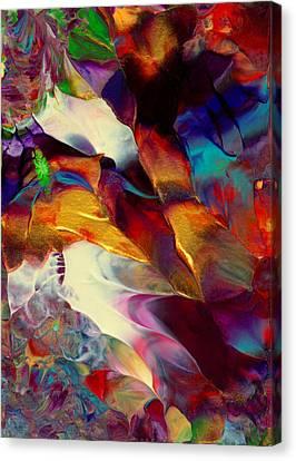 Jewel Island Canvas Print by Nan Bilden