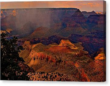 Jewel Of The Grand Canyon Canvas Print by Jim Hogg