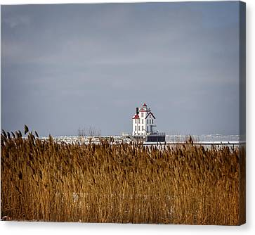 jewel of the Port Lorain Lighthouse Canvas Print