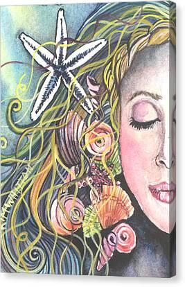 Jewel Of The Sea Canvas Print