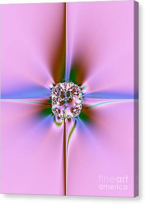 Jewel Canvas Print by Yvonne Johnstone