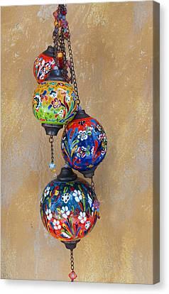 Jewelled Glass Canvas Print