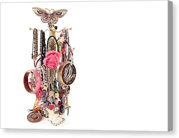 Jewellery Canvas Print by Tom Gowanlock