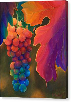 Jewels Of The Vine Canvas Print