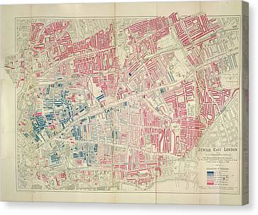 Jewish East London Canvas Print by British Library