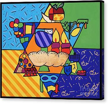 Sukkos Canvas Print - Jewish Year by Carly Khabinsky