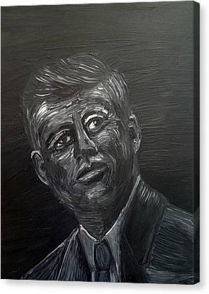 JFK Canvas Print by Deb Wolf