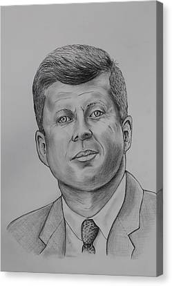 JFK Canvas Print by Robert Pennix