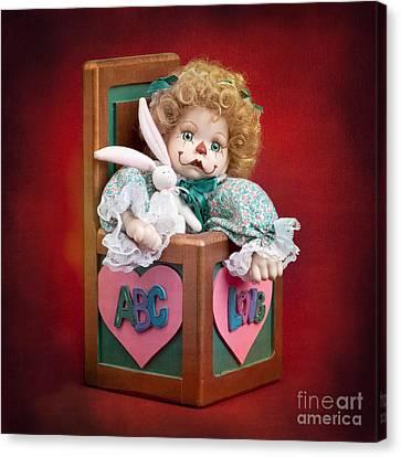 Jill In The Box Canvas Print by Cindy Singleton